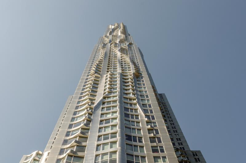 Нью-Йорк Бай Гери, New York by Gehry