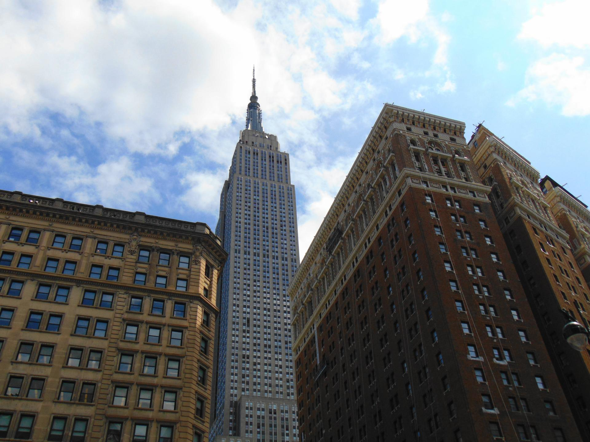 Empire State Building, фото с улицы