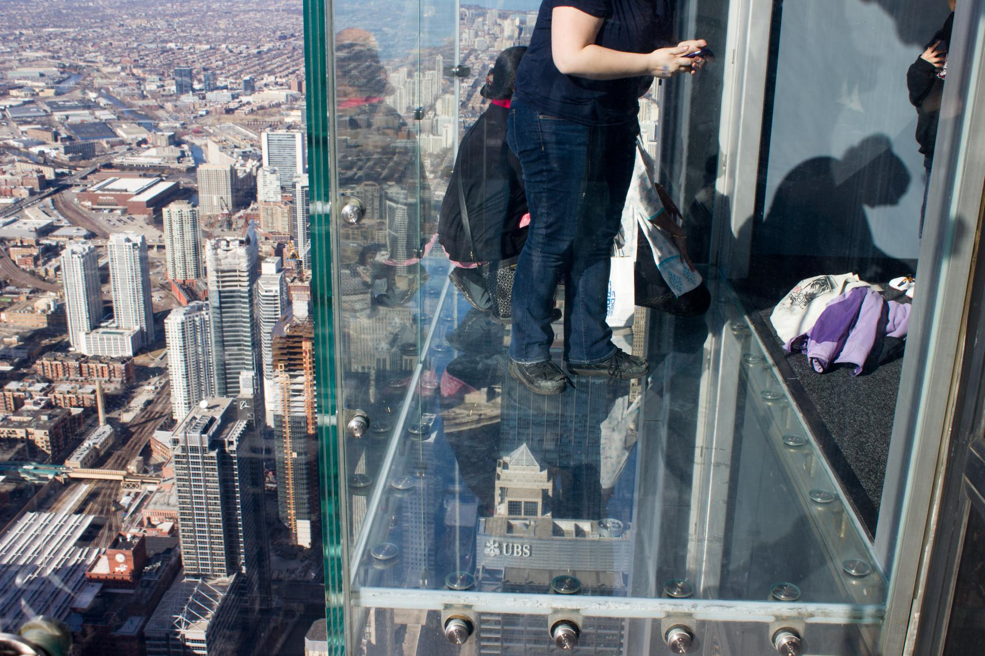 Willis Tower, Ledge